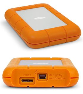 LaCie sort une version 2 To de son disque dur Rugged