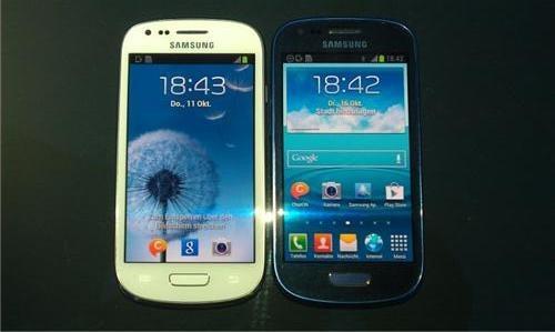 Galaxy S3 Mini : premières photos et vidéo de prise en main de l'appareil