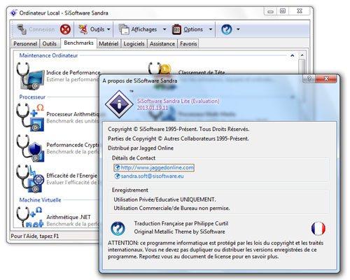 Sandra 2013 est disponible et s'intègre mieux à Windows 8