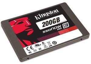 Kingston lance les SSDNow E100 : des SSD pour les entreprises