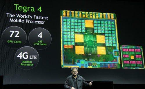 CES 2013 : nVIDIA dévoile le Tegra 4 à la presse