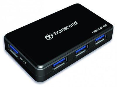 Transcend sort un hub doté de 4 ports USB 3.0