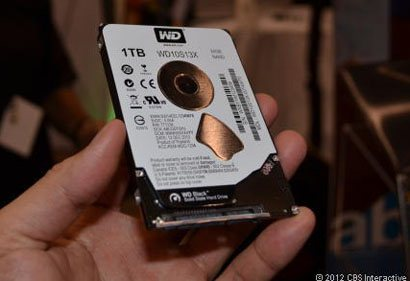 WD Black SSHD : le disque hybride de 1 To de Western Digital