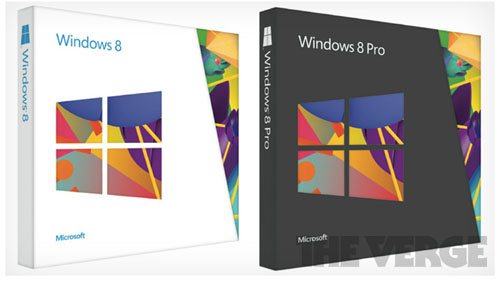 A quoi ressembleront les boites de Windows 8 ?