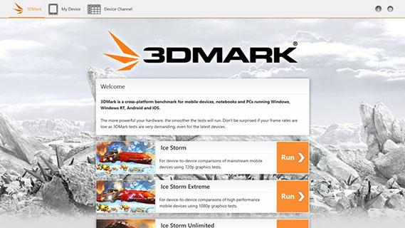 Les utilisateurs de Windows RT ont droit eux aussi à leur 3DMark