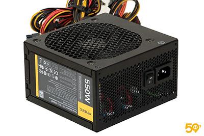 59Hardware a publié un test de l'alimentation Antec VP550F