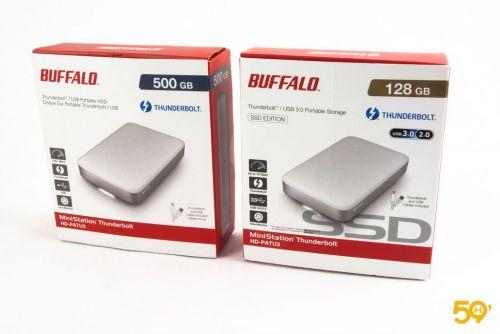 Que valent les SSD et HDD Ministation de Buffalo ?