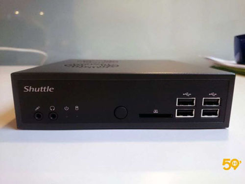 59Hardware examine le mini PC Shuttle DS81L