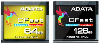 ADATA lance des cartes mémoires CFast très rapides