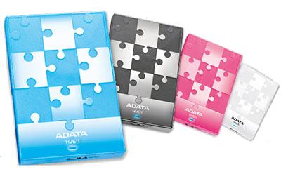 ADATA HV611 : des disques durs USB 3.0 de toutes les couleurs… (Maj : les prix)