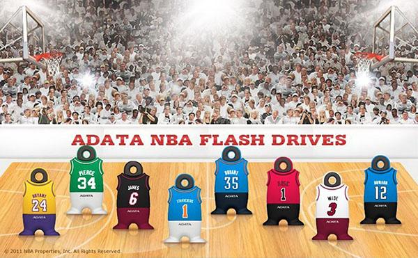 Une série de clés USB 3.0 à réserver aux fans de la NBA…
