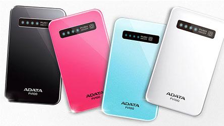 ADATA veut augmenter l'autonomie des tablettes et des smartphones