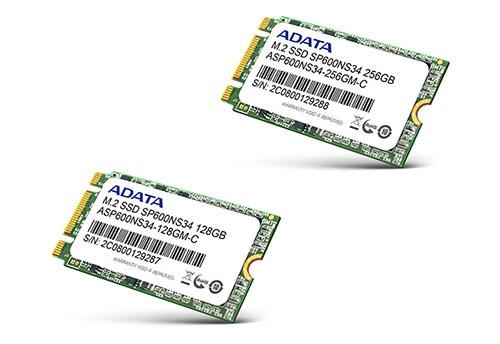 ADATA lance les SSD M.2. SP600NS34