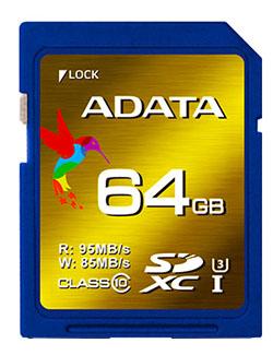 ADATA lance des cartes mémoires SDXC UHS-I de classe 3 (MAJ)