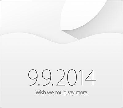 C'est officiel : Apple tiendra bien une conférence de presse le 9 septembre prochain