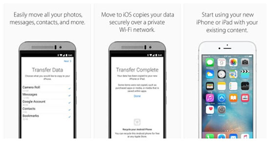 Apple débarque sur Android pour aider les utilisateurs à migrer vers iOS