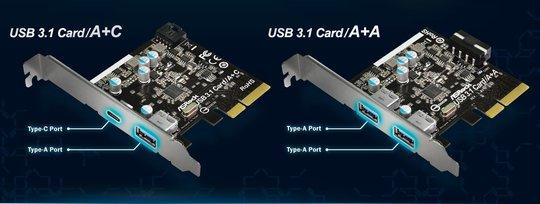 ASRock annonce des cartes mères et d'extension USB 3.1