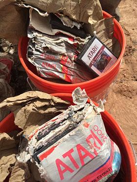Insolite : des milliers de cartouches ATARI retrouvées dans le désert…