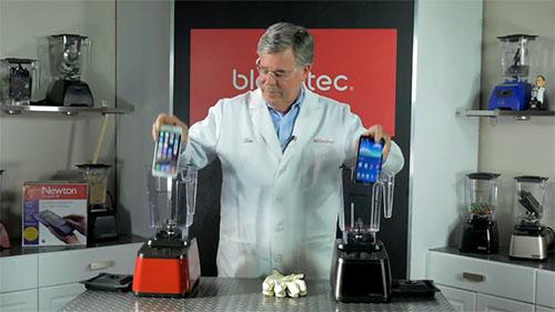 Insolite : Blendtec réduit en poussières l'iPhone 6 Plus avec son célèbre mixeur