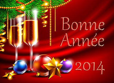 Bon réveillon et bonne année 2014 !