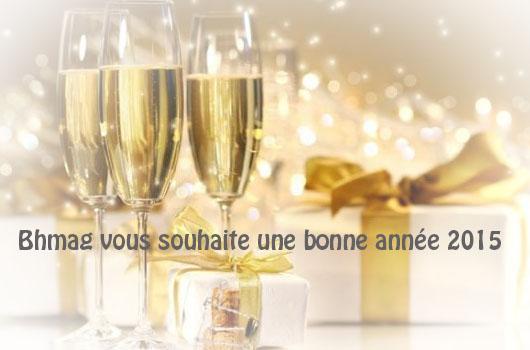 Bon réveillon et bonne année 2015 !