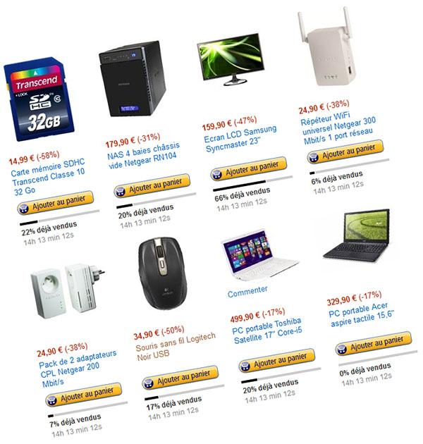 Bons Plans : les offres Amazon de Noël (stockage, réseau, écran, PC)
