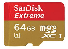 Vente flash spéciale carte mémoire : 1 microSDXC 64 Go à 34,90€ et 1 SDHC 32 Go à 15,49€