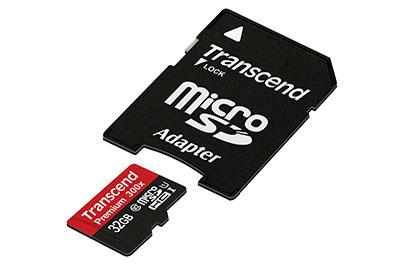 Vente flash : une micro SDHC de 32 Go + adaptateur à 15,99 euros