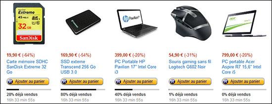 Bons Plans : des PC, une carte SDHC 32 Go, une souris gamer et un SSD externe 256 Go à prix cassés