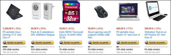 Bons Plans : des CPL, une souris gamer, des PC et une carte mémoire SDHC 32 Go à petits prix