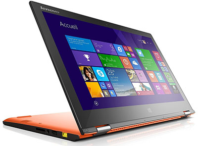 Vente flash : le PC portable 13″ tactile Lenovo Yoga 2 à 479,20 euros (après ODR)