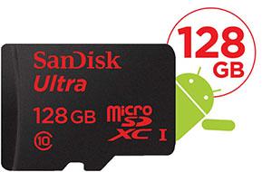 Vente flash : une micro SDXC de 128 Go bradée à 69,90€ livrée