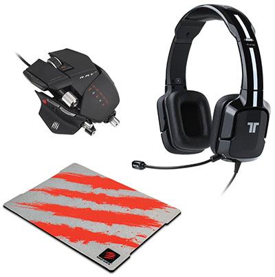 Bons Plans : 100€ le pack spécial gamer (casque, souris, tapis)