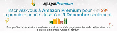 Bon Plan : l'offre Premium d'Amazon.fr à seulement 29€ au lieu de 49€ !