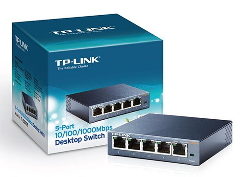 Vente flash : 17,79 euros le switch réseau 5 ports TP-Link