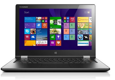 Vente flash : le PC portable 13″ tactile Lenovo Yoga 2 (Core i7, SSD 256 Go, RAM 8 Go, etc..) à 799 euros