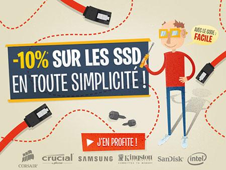 Bon Plan : LDLC offre 10% de remise sur tous les SSD !