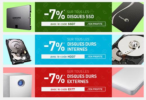 Bons Plans : les disques durs et les SSD sont en promos chez LDLC