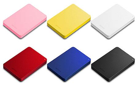 Buffalo lance les HD-PNFU3, des disques durs USB 3.0 de toutes les couleurs !