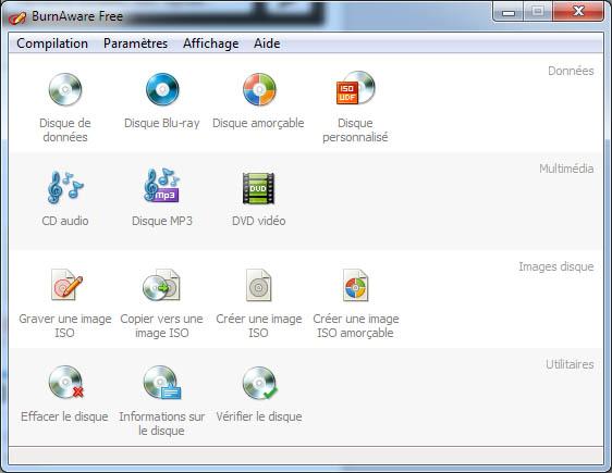 Le logiciel de gravure BurnAware passe en version 6.9.3