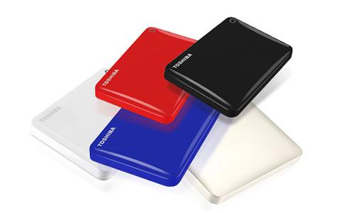 Toshiba présente le disque dur USB 3.0 / WIFI : Canvio Connect II
