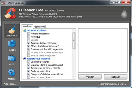 CCleaner passe à la version 4.15.4725