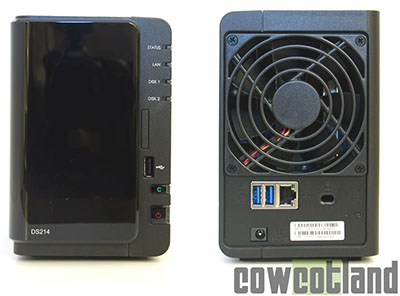 CowCotland teste le NAS DS-214 de Synology