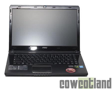 CowCotland publie un test du PC portable MSI GE40 pour gamers