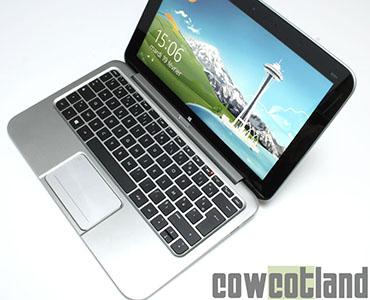 CowCotland a publié un test de la tablette HP Envy X2