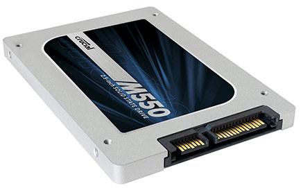 Bons Plans : 159,90€ le SSD Crucial M550 de 512 Go (maj : dispo ailleurs au même prix)