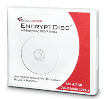 DataLocker EncryptDisc : le disque optique qui chiffre les données tout seul