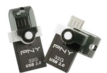 DUO-LINK OU4 : une clé OTG USB 3.0 / micro USB signée PNY