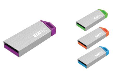 Emtec lance une petite clé USB 2.0 en aluminium