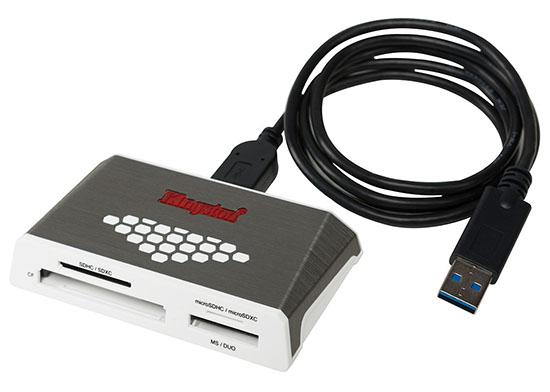 Kingston sort le FCR-HS4 : un lecteur de cartes mémoires USB 3.0 polyvalent
